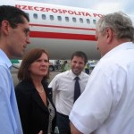 Na lotnisku w Tibilisi