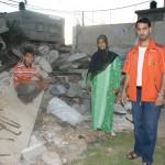Palestyna zniszczenia. Wiele rodzin wciąż żyje na gruzach własnych domów.
