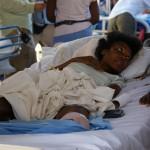 Gdy akcja poszukiwawcza się zakończyła- przenieśli się do tego szpitala. Mieli do dyspozycji to, co zostało im z przywiezionej pomocy oraz to, co udało się wydobyć z ruin szpitala. Potwierdzili, iż poza naszą nie dotarła do nich żadna pomoc.