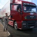 Samochody z pomocą humanitarną