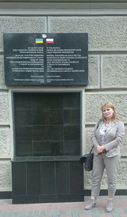 30 kwietnia Charków tablica NKWD